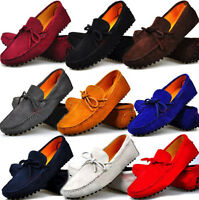 Size 5-12 Slip On Leather Mens Casual Driving Boat Loafers Shoes Gommino Hot sz