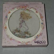 Vintage 1991 Nib Enesco Precious Moments Personalized Plate w/Easel - Susan