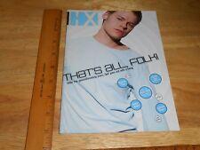 HX Magazine Randy Harrison Hal Sparks Queer as Folk Betty White LYPSYNKA '05 Gay