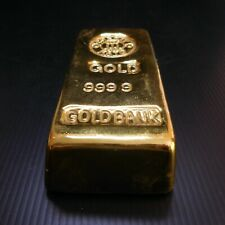 Lingot or factice Crédit KATO 9999 GOLD BANK Bernard CAVANT Paris JAPAN N5878