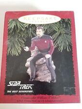 1996 Hallmark Keepsake Ornament -Star Trek William T (Wil) Riker- New