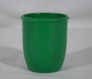 RARE VINTAGE LITTLE TIKES PRETEND PLAY GREEN REPLACEMENT PLASTIC CUP / GLASS