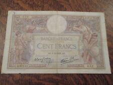 cent francs luc olivier merson ak. 1-12-1938. ak