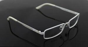 RARE New Genuine GUCCI TITANIUM RX White EyeGlasses Frame Glasses GG 1885 DMV
