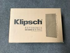 Klipsch RW-5802-II In-Wall Subwoofer Brand New in the Box with Free Shipping!