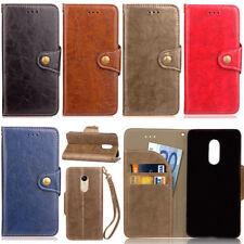 Retro Stand Wallet Leather Flip Case Cover For Xiaomi Mi A1 Redmi 4X Note 4X