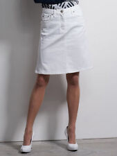 Knielange Damenröcke aus Denim