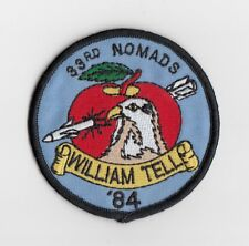 US Air Force  - 33rd Tactical Fighter Wing - 1984 William Tell Comp patch  F-15