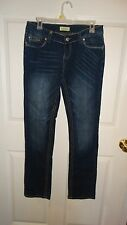 NICE WOMANS Paris BLUES  Straight Jeans Size 11 COLOR BLUE