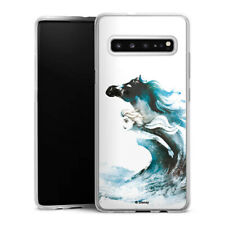 Samsung Galaxy S10 5G Silikon Hülle Case Handyhülle - Elsa Waterhorse Frozen 2