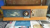 Vintage Ferguson 388a Valve Radio - Damaged - Powers On - 1958 - AM FM LW