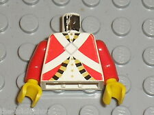 LEGO Pirates Minifig torso Imperial Guard 973p3q / Set 6277 6279 6263 6258 6271.
