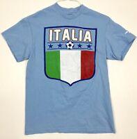 Italia 2014 FIFA World Cup T-Shirt Adult Size Medium Italy Football Soccer