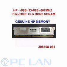SAMSUNG 4GB 1X4GB PC2-5300F Fully Buffered ECC for Apple Mac Pro 1,1