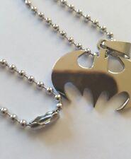 Batman Necklace Pendant Silver Super Hero DC Comics Batman Logo
