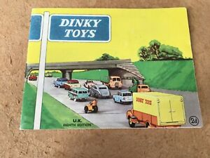DINKY TOYS CATALOGUE 1960 UK 8th EDITION EXCELLENT CONDITION FOR AGE