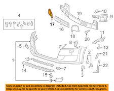 AUDI OEM TT Quattro Front Bumper-Foam Impact Absorber Bar Rebar Right 8S0807574
