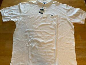 Faconnable 2XL NWT Mens Short Sleeve White Polo Shirt A31