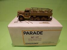 MOMACO PARADE 17 BUILT KIT OPEL MAULTIER - AFRIKA KORPS 1943 - 1:50 -  IN BOX