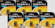 "6~NEW! ""DURACELL"" 6 volt Lithium Photo Camera Battery 28L, 2CR11108, L544, PX28L"
