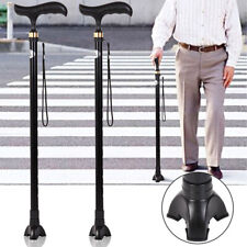 5PC Tripod Anti Slip Rubber Replacement Tips For Cane Walking Sticks Crutches US