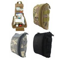 Tactical First Aid EMT Pouch Outdoor Utility Pack Molle Medical Bag