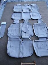 LEATHER SEAT COVERS FOR 2005-06 TOYOTA TUNDRA ACCESS-CAB KATZKIN FAWN A202