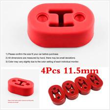 4Pcs Red 11.5mm Universal Polyurethane Muffler Exhaust Hanger Hangers Bracket