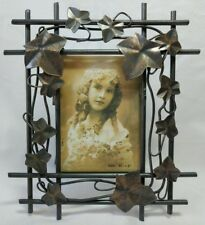 """Metal Picture Frame for 3.5"""" x 5"""" Picture Ivy Easel Stand"""
