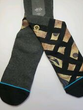 Stance Animal Standard Print Athletic Cotton Socks Mens  L/XL (9-13) Mix-Match