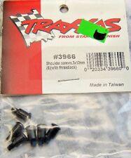 Traxxas 3966 Black Shoulder Screws w/ Threadlock 3x10mm 6-Pack