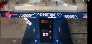 Original Chexx Bubble Dome Hockey - Rubber Cabinet Corner Guard Set of 4 NEW OEM