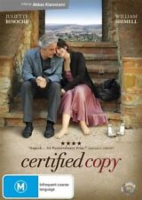 Certified Copy (DVD, 2011)