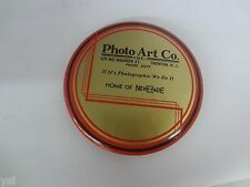 VINTAGE ADVERTISING  MIRROR PAPER WEIGHT  PHOTO ART CO.   S-1409