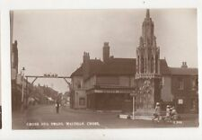 Cross & Swans Waltham Cross [L249] Vintage RP Postcard 248b