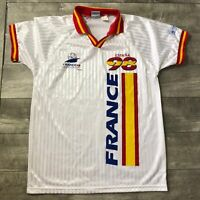 RARE Spain Espana Soccer 1998 France World Cup Jersey Mens Small/Medium Futbol
