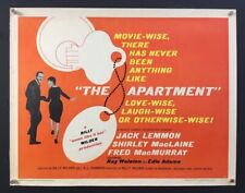 The Apartment Half Sheet Movie Poster - Lemmon - MacLaine *Hollywood Posters*