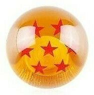 Dragon Ball Z Gear Shift Knob 7 Star with Thread Adapters to Suit most models