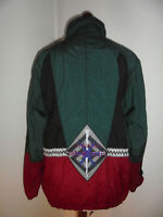 vintage 80s Killtec Virtual Snow Club Nylon Jacke oldschool 80er Jahre Gr. S (M)