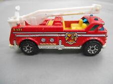 Vintage Matchbox Bucket E-121 05 MFD Fire Truck MB602