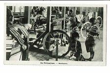 CPA -Carte postale-Philippines - De Philipijnen - Weefkamer - Salle de Tissage