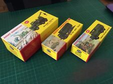 DINKY TOYS Reproduction Boxes, Diorama, 661, 622, & 689 A
