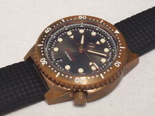 ZELOS MAKO 500M BRONZE DIVER AUTOMATIC, ANTHRACITE DIAL, 40 MM, SOLD OUT