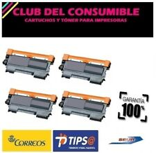 4 X TONER NO OEM BROTHER TN2220/TN2210/TN2010/TN450 NEGRO MFC 7360N MFC 7460