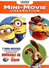 LLUMINATION 7 MINI Movie Collection DVD LORAX- MINIONS_HOP_NEW sealed