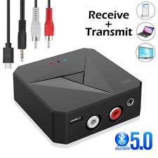 NFC Bluetooth 5.0 Empfänger Wifi AUX Cinch Buchse Hifi Wireless Adapter Audio DE