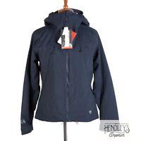 NWT Womens MOUNTAIN HARDWEAR MARAUDER Jacket S Zinc Blue Insulated Hooded RECCO
