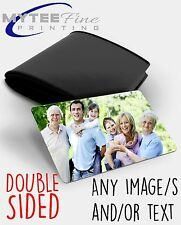 Personalised Metal Keepsake DOUBLE SIDED Card for Wallet/Purse Photo Gift Card