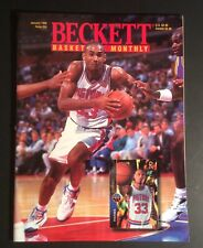 Beckett Basketball Card Monthly January 1995 #84 Grant Hill Cover