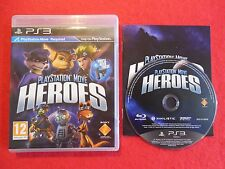 PLAYSTATION MOVE HEROES - PlayStation 3 PS3 ~12+ Action/Adventure Game